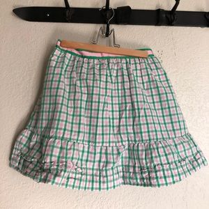 Pink and Green preppy Lilly Pulitzer skirt